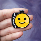 SMILE Double Layer Enamel Pin