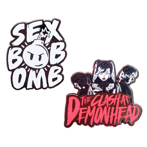 Scott Pilgrim Band Pin Set