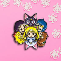 Sailor Moon Spinning Pin