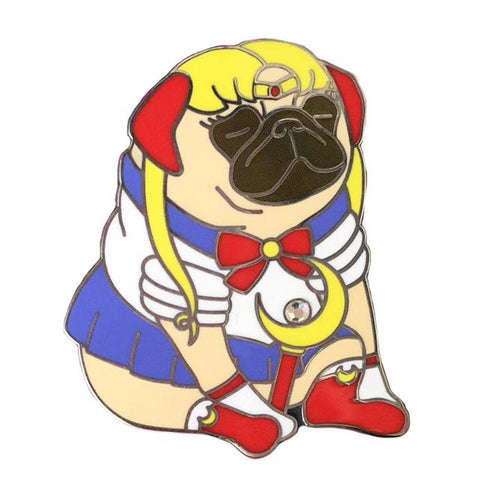 Sailor Pug Hard Enamel Pin