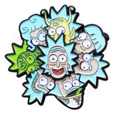 Rick And Morty Spinning Pin