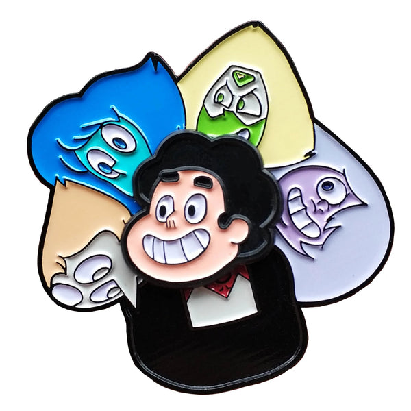 Steven Universe And The Crystal Gems Spinning Enamel Pin