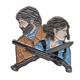 The Last Of Us Part II Ellie & Joel Enamel Pin