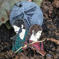 The Last Of Us Joel And Ellie Enamel Pin