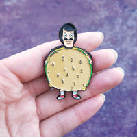 "Bob's Burgers ""This Is Me Now!"" Spinning Pin"