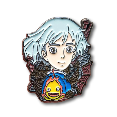 Howl's Moving Castle Sophie Enamel Pin