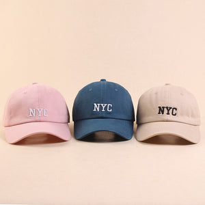 nude NYC hat