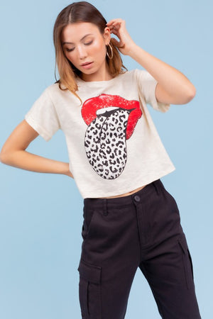 WHITE LIP ROCK TSHIRT