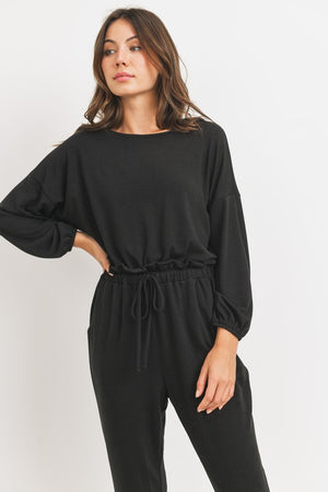 black french jumpsuit 8 enero