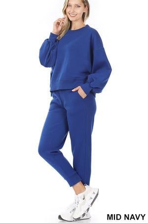 royal blue loungewear set