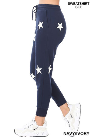 navy stars loungewear set 28 enero