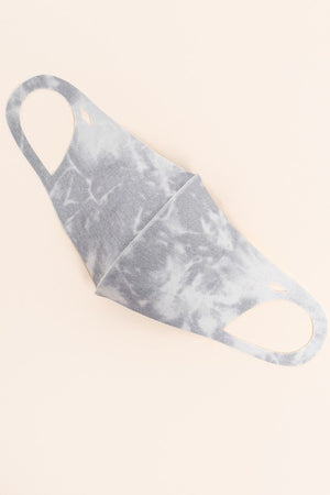 slate washed neoprene facemask