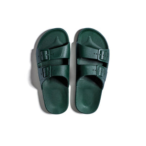 amazonia  green freedom moses slides for men & women