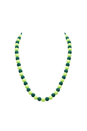 green  beads chain  for girls 14 feb