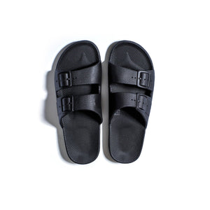 black  Freedom moses slides ( Men , Women & kids )