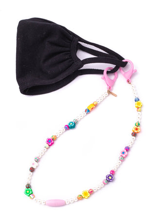 Beaded kids chain for face mask 1 mayo
