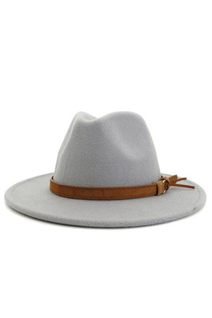 light grey retro hat