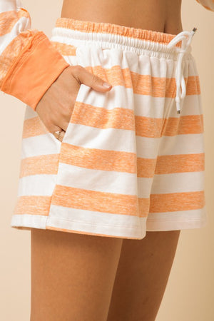 orange striped hoddie set 8 oct