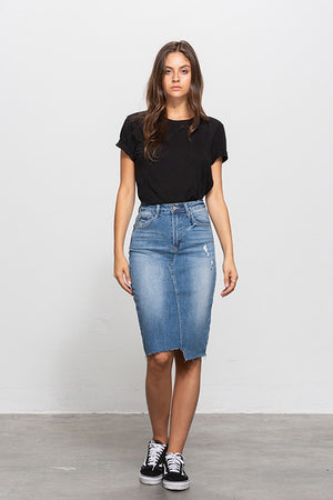 denim pencil skirt 18 oct