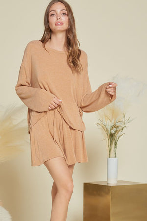 rust loungewear soft short set 20 enero