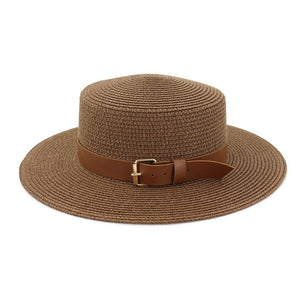 coffee straw hat