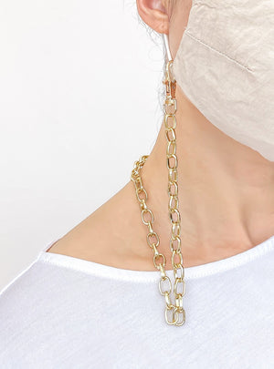 gold chain holder for face mask 4 nov