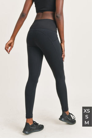 slip twisted highwaist leggins