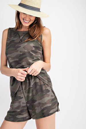 army shorts set