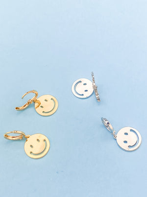 smiley earings
