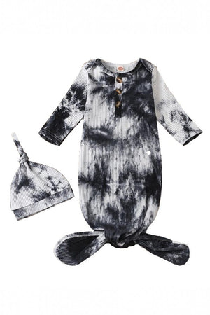navy tie dye baby sleep sack
