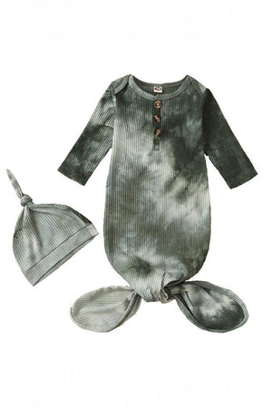 grey baby tie dye sleep sack