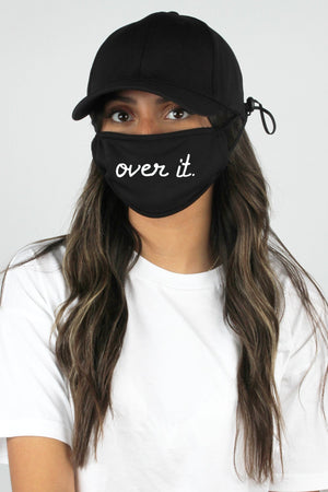 over it hat & face mask