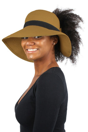 light brown straw pony tail hat 13 dic