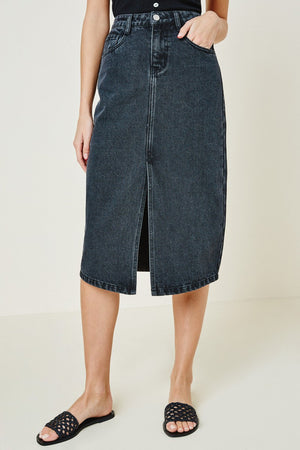 black denim skirt 13 dic