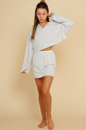 grey cropped skirt set 12 oct