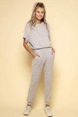 ribbed soft hoodie & jogger set 22 oct