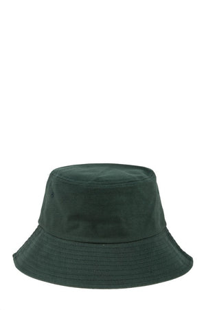 hunter green bucket hat