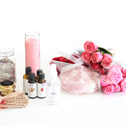 self love altar ingredients