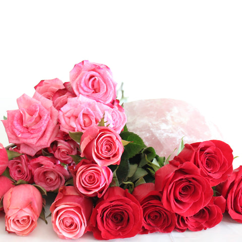 Roses and Rose Quartz