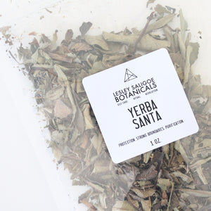 Yerba Santa Smoke Herbal Incense. Energetic Hygiene. Loose Leaf. Strong Boundaries.