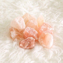 Load image into Gallery viewer, Himalayan Pink Salt Chunks. Energetic Hygiene. Purifying. Ritual Bath. Sole. Bag of Two.