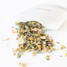 Load image into Gallery viewer, CHILL Herbal Tea. Anti Anxiety. Lavender. Chamomile. Lemon Balm. Spearmint. Passionflower.