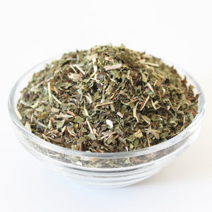 NOURISH Herbal Tea. 100% Organic. Nettle. Burdock Root. Dandelion. Spearmint.  1 ounce.