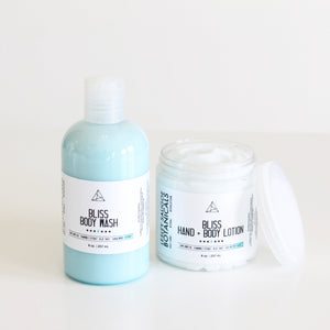 Bliss Body Wash or Lotion. Naturally Scented. Sulfate & Paraben Free. Spa Scent. Sale.