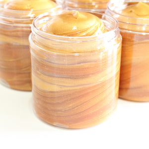 Afterglow Shimmering Skin Finisher. Chamomile Infused Aloe Vera Highlighter.