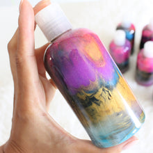 Load image into Gallery viewer, Supernova Body Wash or Lotion. Space Themed Glowing Shower Gel. Lavender and Tonka Bean.