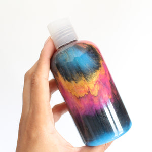 Supernova Body Wash or Lotion. Space Themed Glowing Shower Gel. Lavender and Tonka Bean.