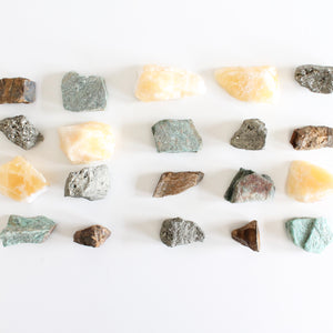 Abundance Crystal Set for Luck, Protection, Abundance, & Transformation. - Lesley Saligoe Botanicals