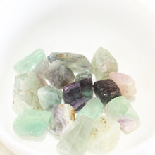 Load image into Gallery viewer, Rainbow Fluorite Crystal. Small Stone. Harmonizes Spiritual Energy. - Lesley Saligoe Botanicals