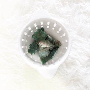 Green Aventurine. Crystal for Luck, Protection, and Transformation. - Lesley Saligoe Botanicals